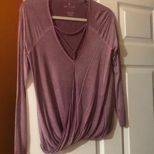 Long Sleeve Aerie Super Soft Long Sleeve- small